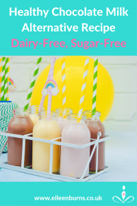 healthy chocolate milk recipe dairy-free sugar-free