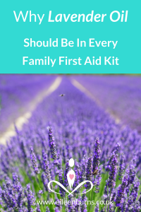 pure lavender essential oil first aid kit