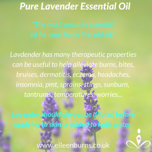 lavender essential oil for kids