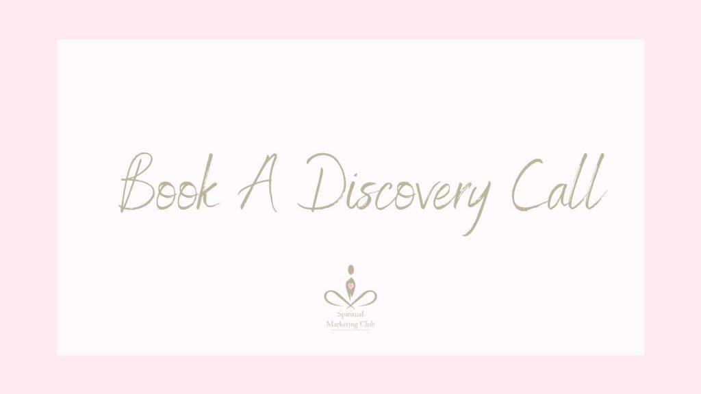 Free Discovery Call - Spiritual Coach